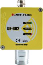 Rivelatore gas industriale Det Fire DF-GD2