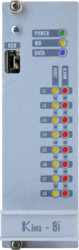 DF-KIRA-8I-STD Modulo 8 ingressi convenzionali